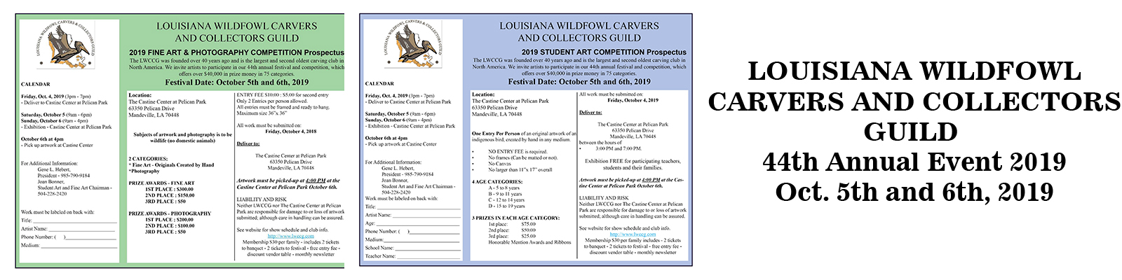 Louisiana Wildfowl Carvers and Collectors Guild